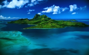 Picture of a large island1